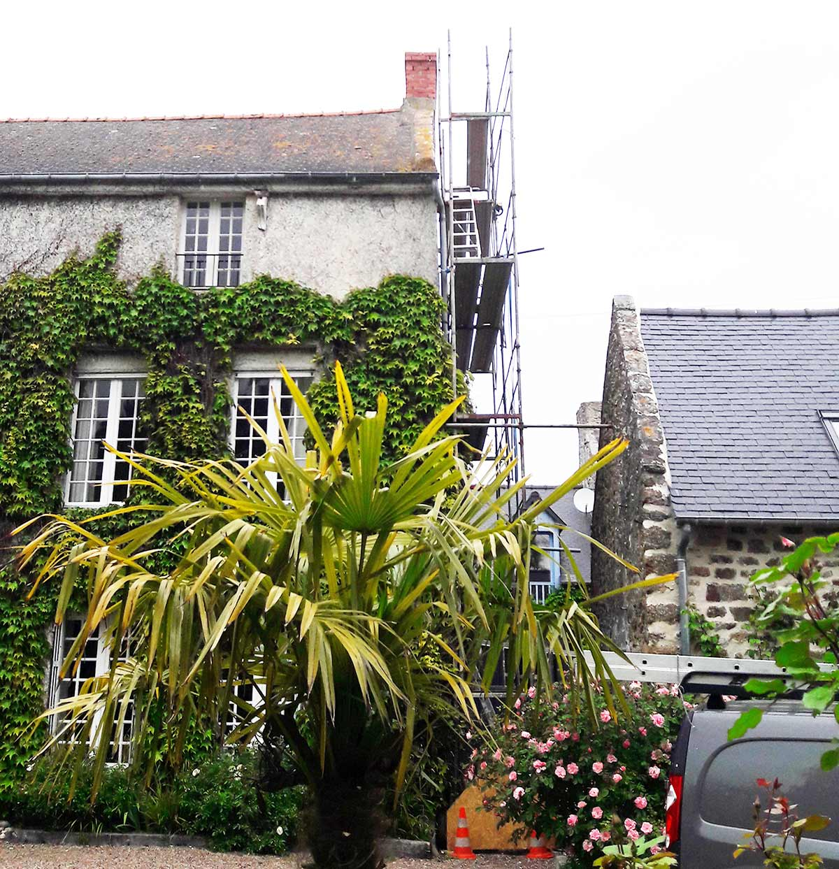 external renovations of a malouins property