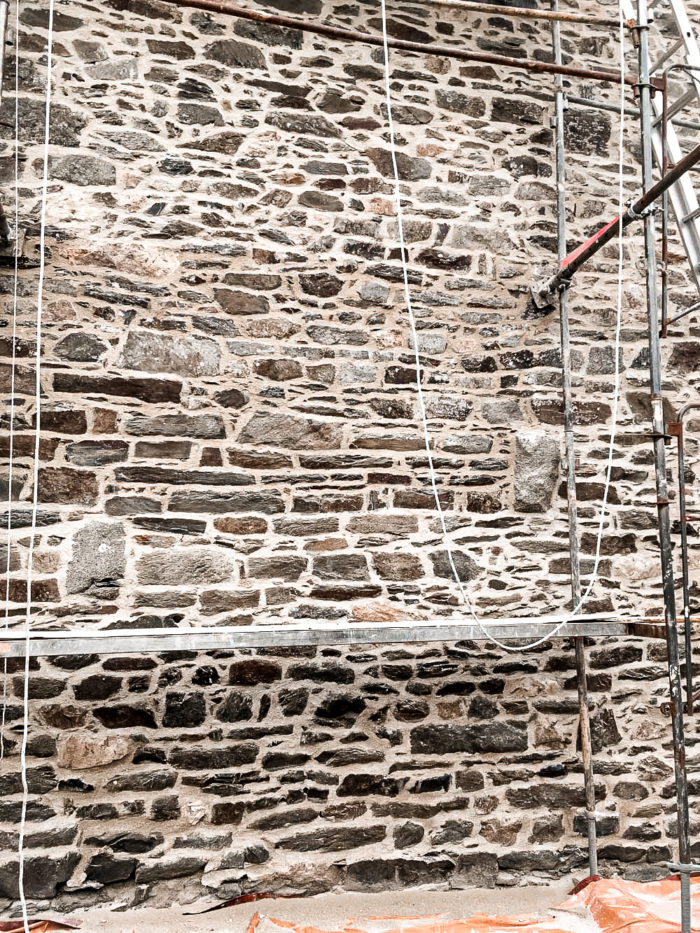 renovation of masonry and repointing work