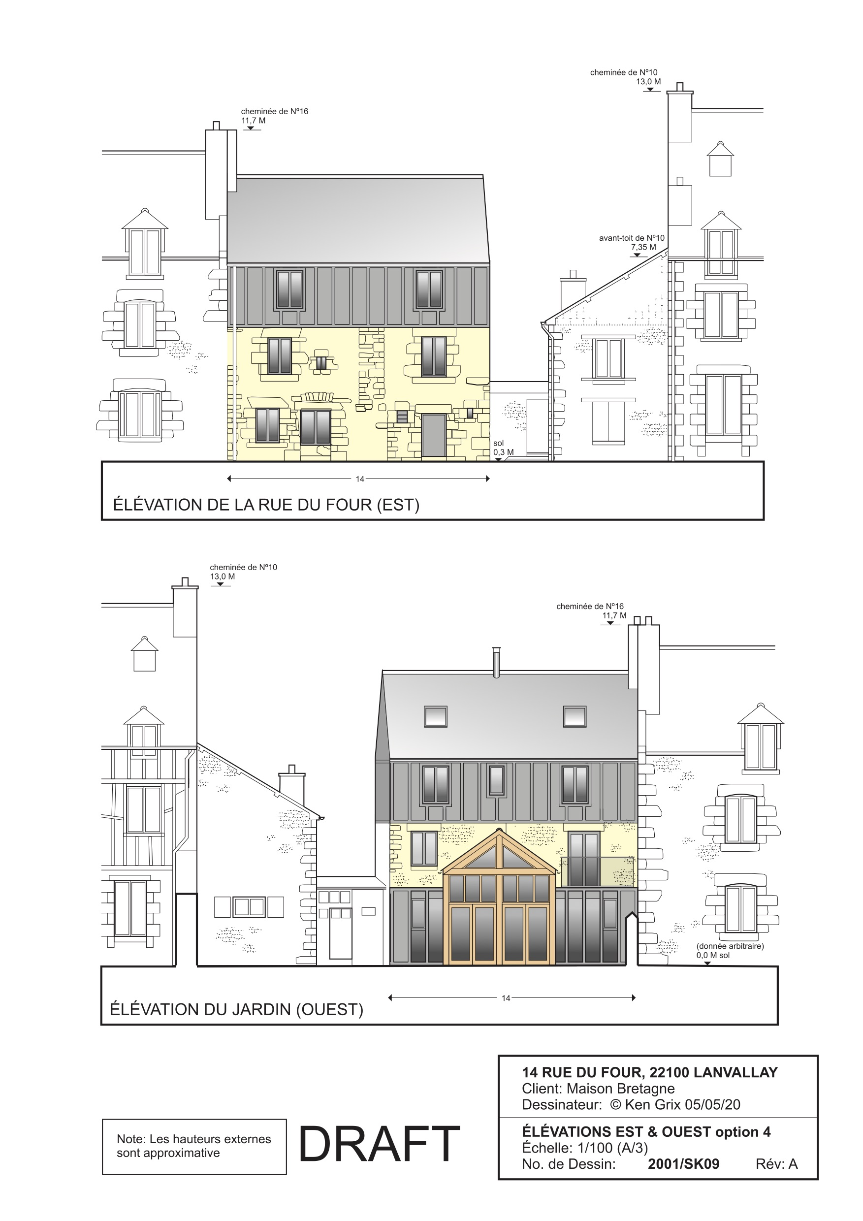 Design and build project Dinan Brittany